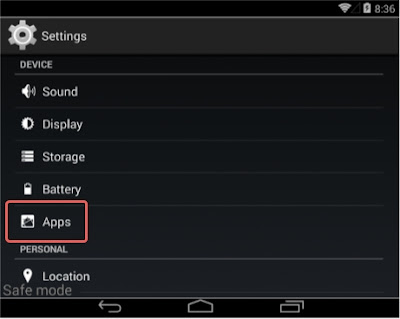 App Settings Android