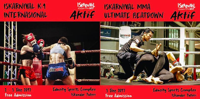 Warriors of Borneo blog: BOXXTOMOI ISKARNIVAL K1