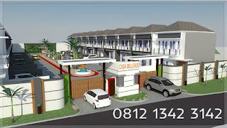 fasilitas lengkap rumah modern minimalis bintaro