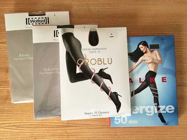 Couture Energising Factor 8 Support Black Tights Size Medium New Boxed