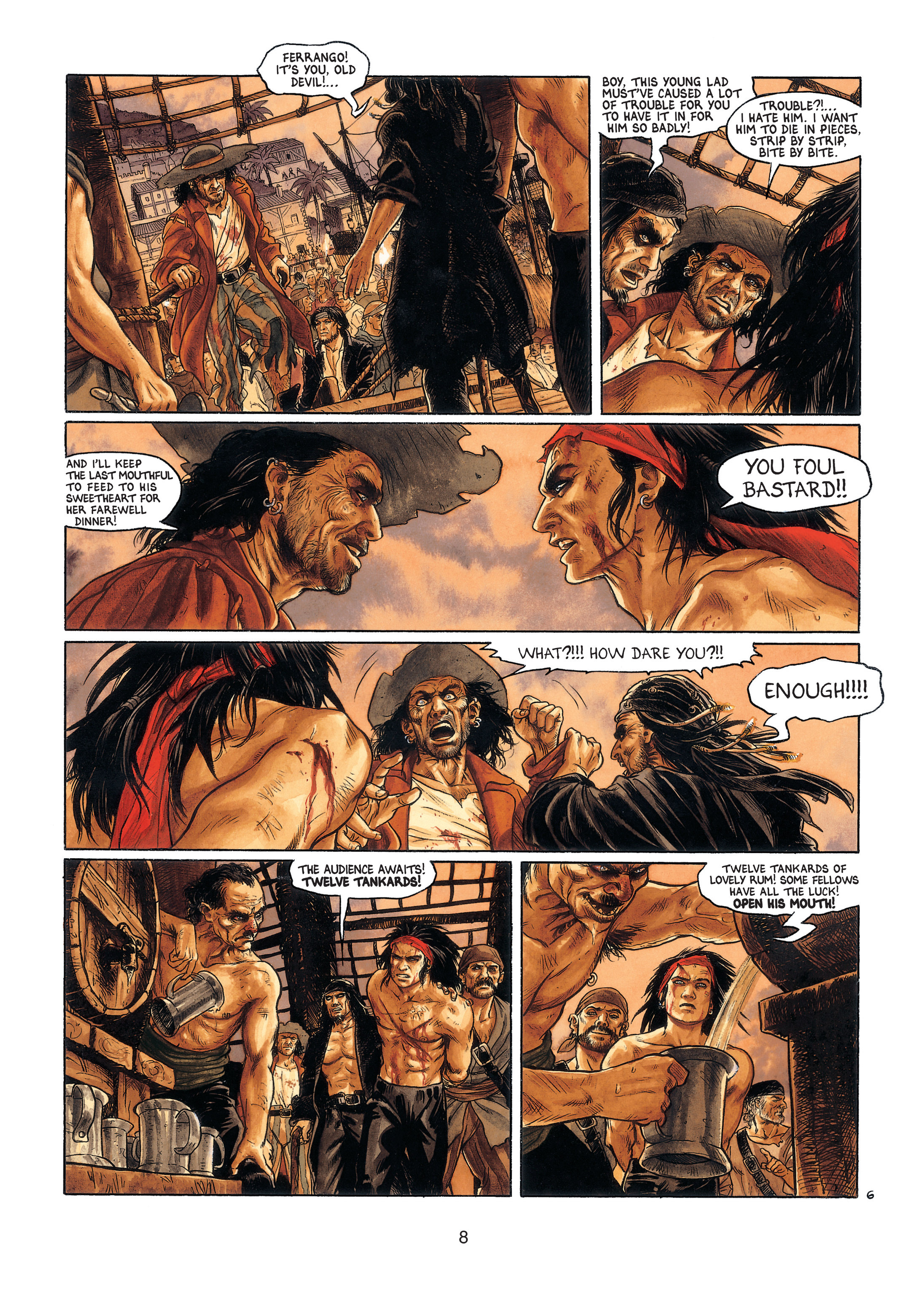 Read online Barracuda comic -  Issue #4 - 9