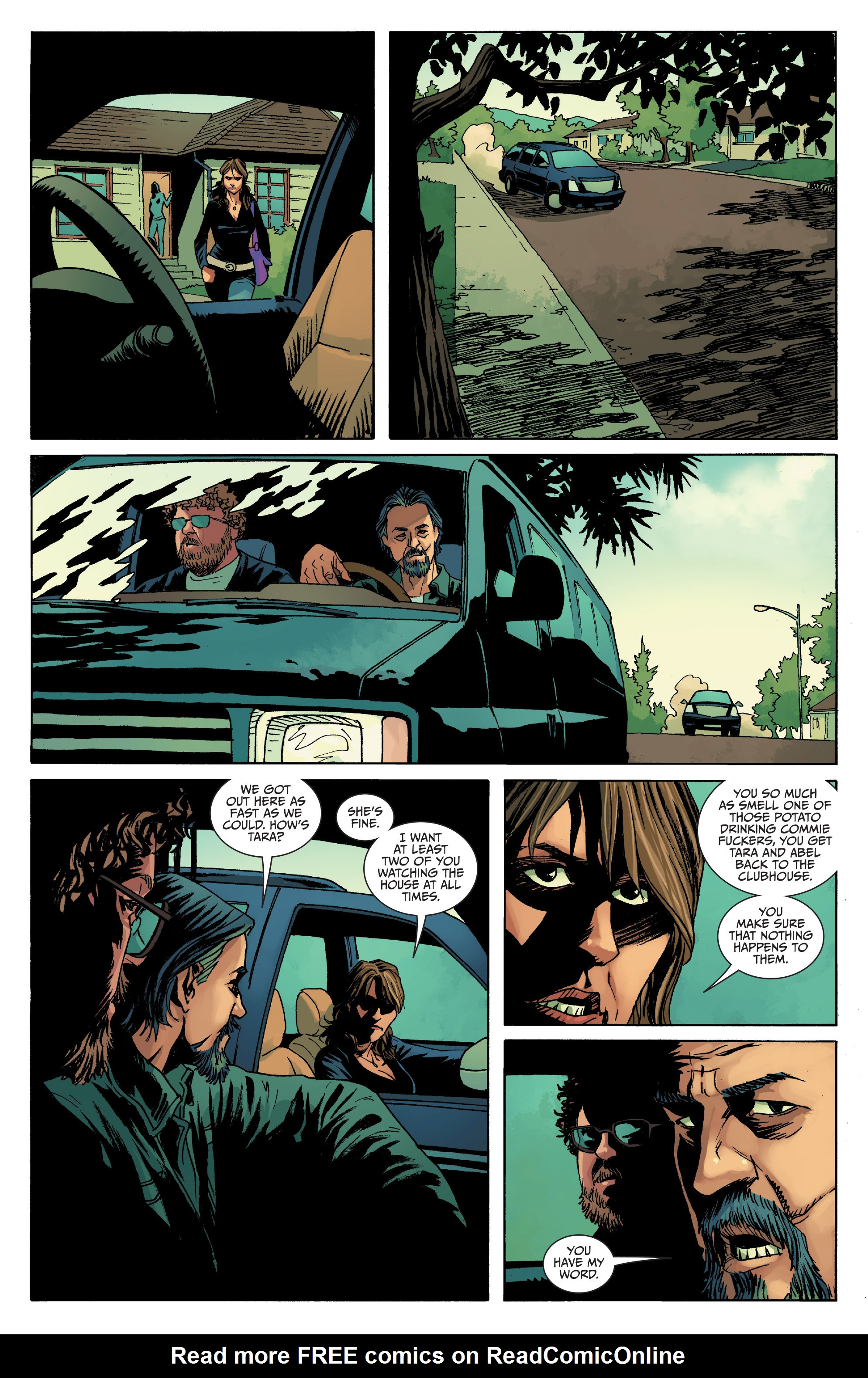 Read online Sons of Anarchy comic -  Issue #8 - 19