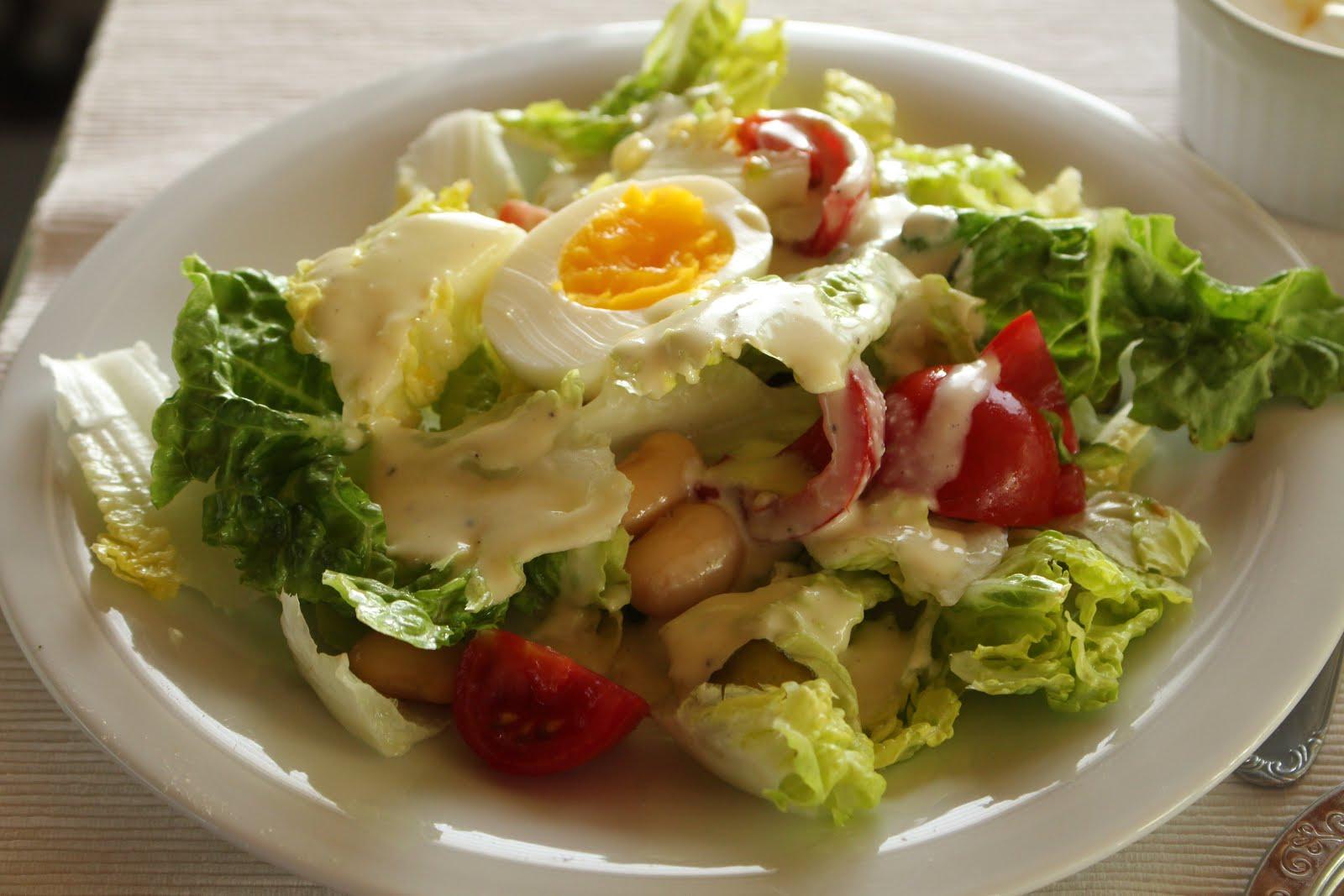 Wochenplan für eine Alltagswoche mit wenig Zeit - sieben sommerliche Gerichte und zwei Torten