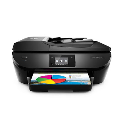 Main functions of this HP coloring inkjet photograph printer HP Officejet 5740 Driver Downloads