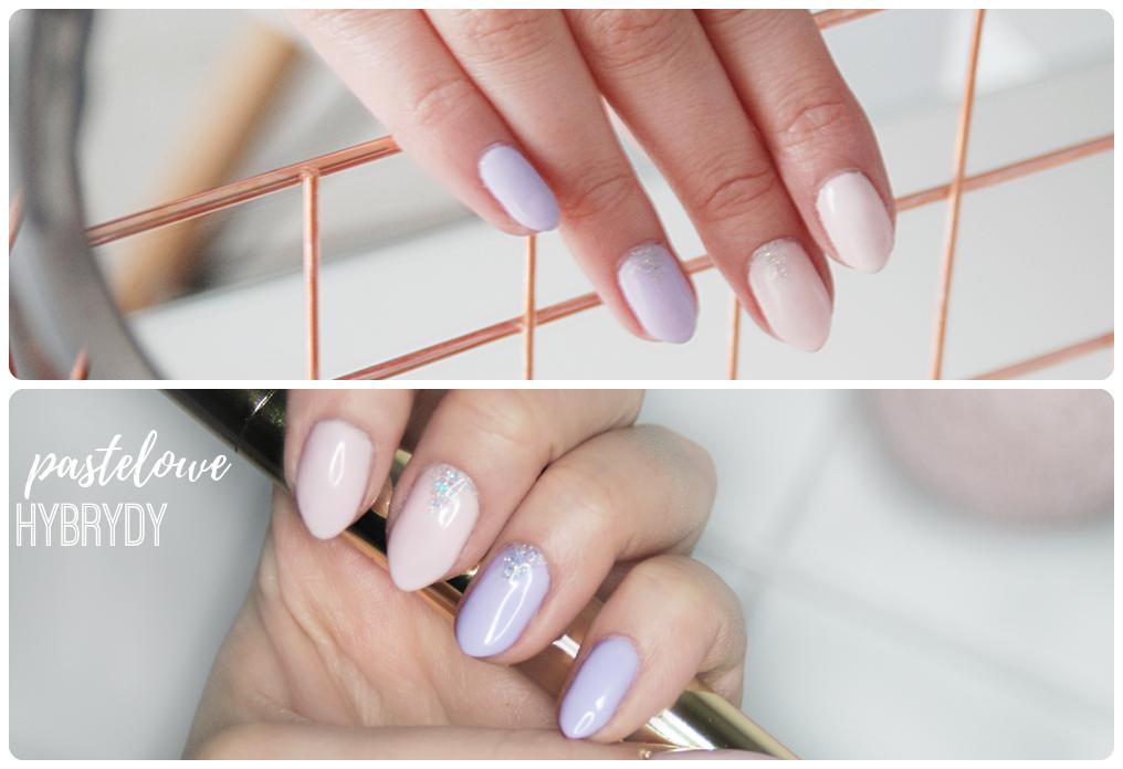 pastelowy manicure