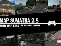 Mod Map Sumatra v2.8 Euro Truck Simulator 2