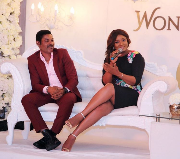 NOLLYWOOD GODDESS OMOTOLA AND HUBBY STEP OUT IN STYLE(PHOTOS)