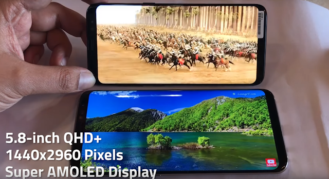 Samsung Galaxy S8 new smartphone Super Amoled display