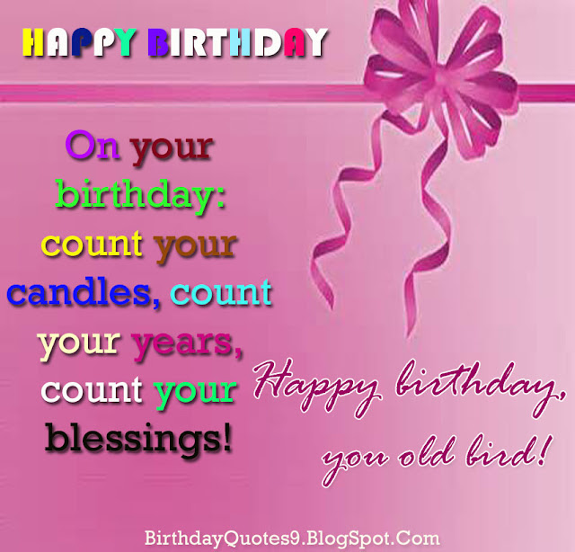 Happy Birthday Blessing Quotes Images: Happy Birthday Wishes, Quotes: Count Your Blessings