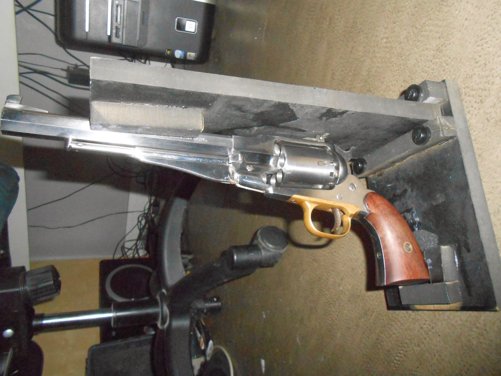 support pour revolver