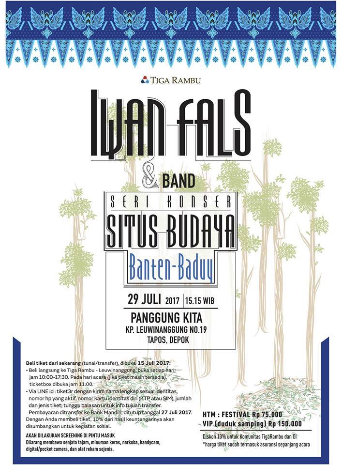 Konser Situs Budaya Banten-Baduy