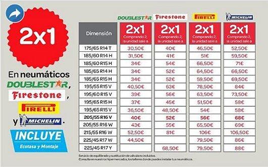 2x1-neumaticos-Carrefour