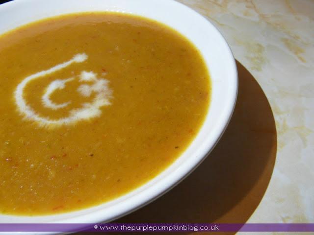 Vegetable Soup at The Purple Pumpkin Blog