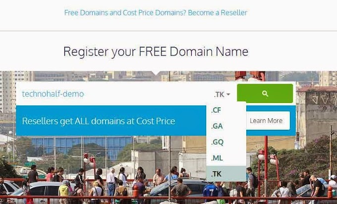 How To Setup Free DOT tk(Freenom) Domain in Blogger for 1 Year