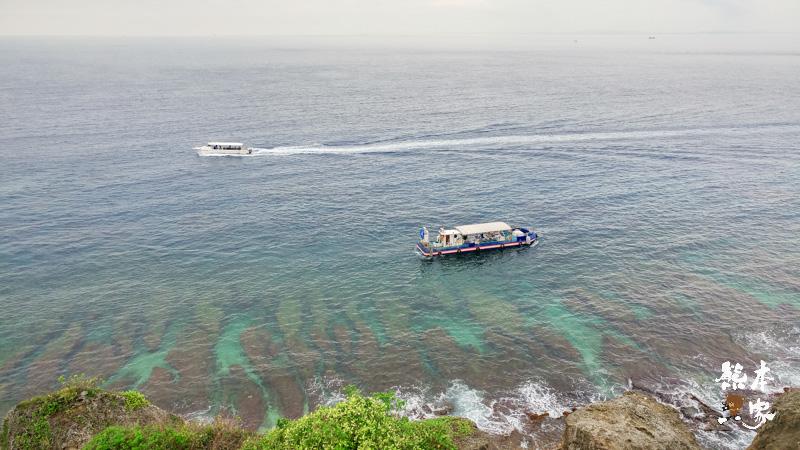 小琉球望海亭~居高臨下欣賞絕美小琉球海崖、珊瑚裙礁海岸和箱網養殖景致