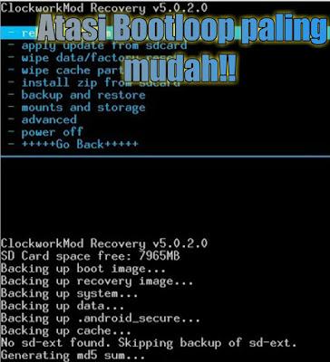 Cara mengatasi bootloop asus zenfone 5