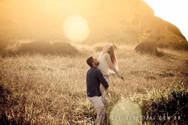 ensaio casal por do sol