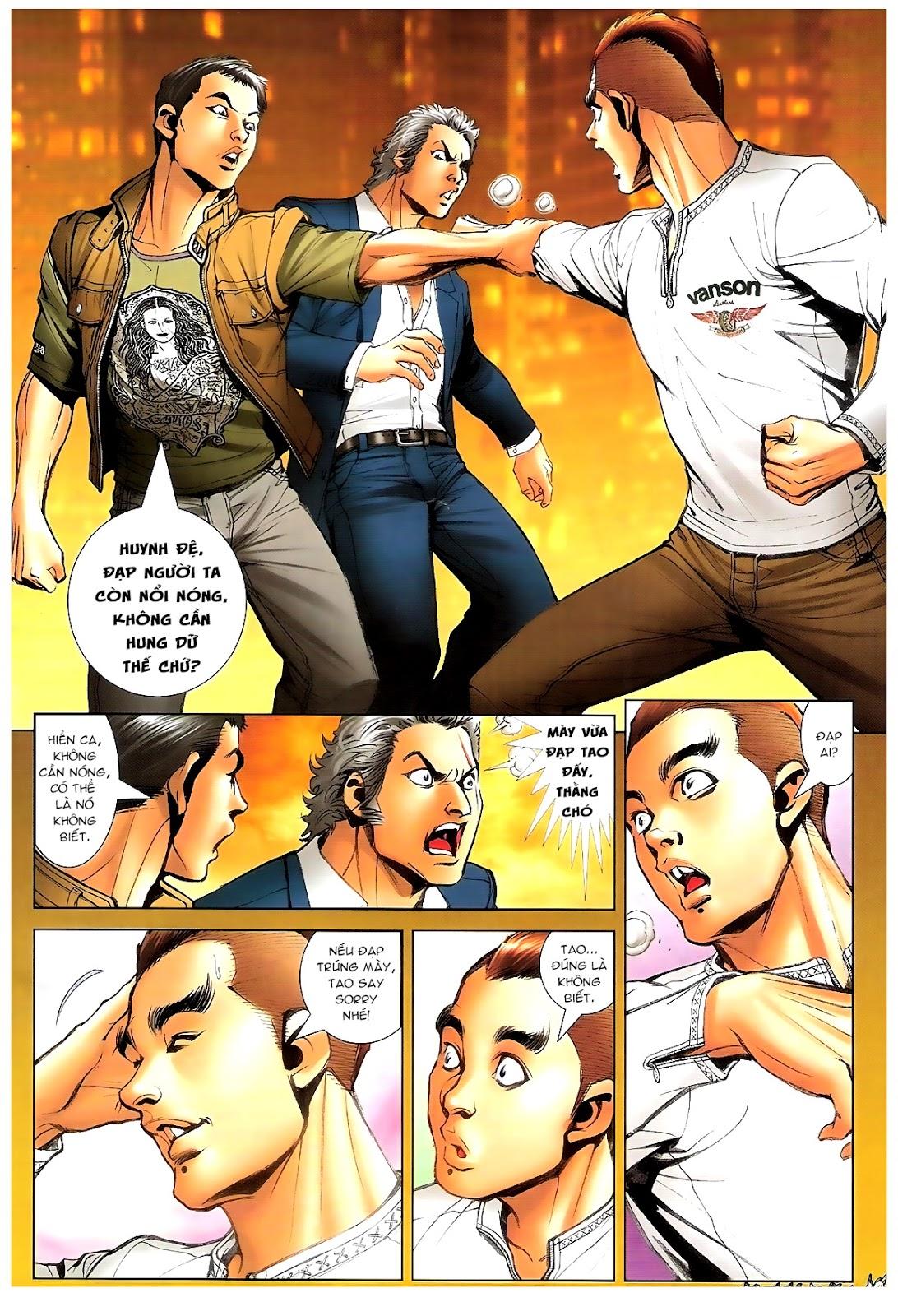 Người Trong Giang Hồ - Chapter 1378: Oan gia gặp nhau - Pic 9