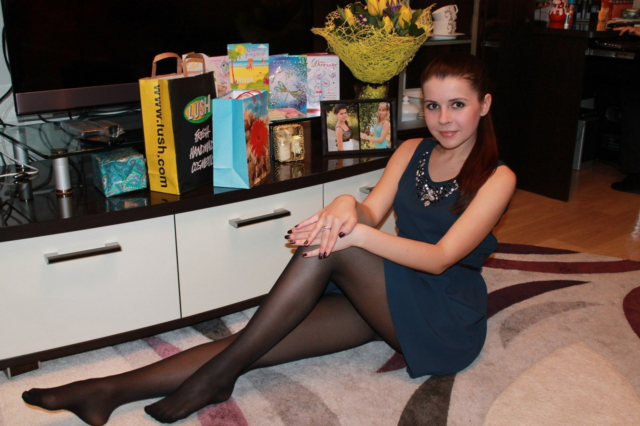 Teen In Pantyhose 118