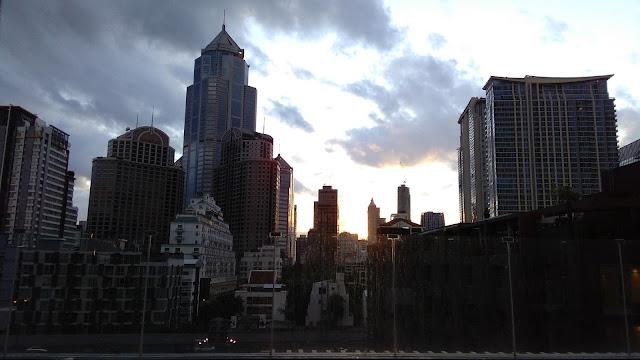 Vistas de Bangkok, rascacielos (Hotel Icon)