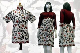 Model Model Baju Batik Modern Terbaru Just