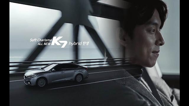 孔劉 KIA K7 ---代言廣告