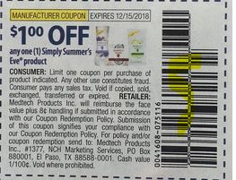 Save $1.00/1 SUMMER'S EVE Coupon