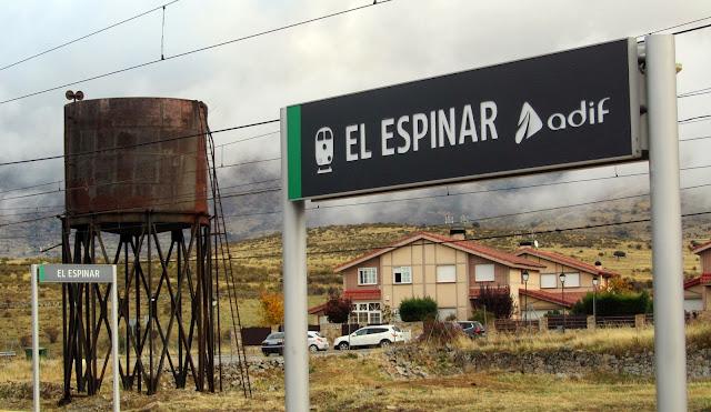 Estación de El Espinar