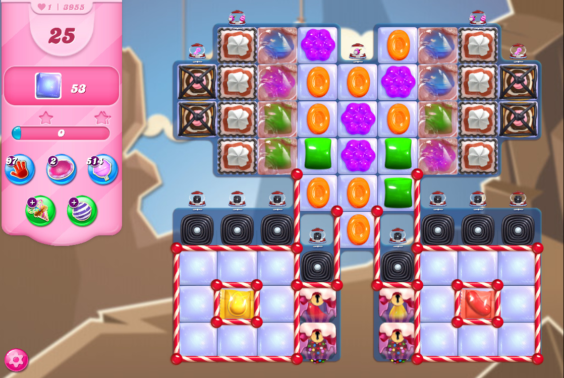 Candy Crush Saga level 3955
