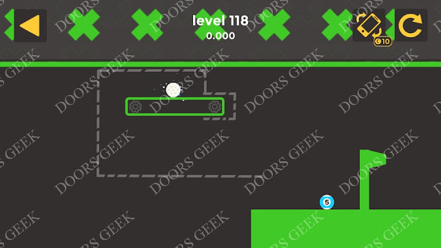 Ball & Ball Level 118 Solution, Walkthrough, Cheats for android and ios
