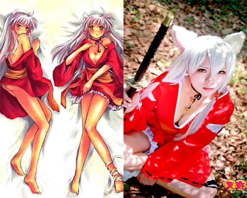 "Cosplay Terbaik dari Transformasi Karakter Cowok ke Cewek Anime Inuyasha By ""Aizi"""