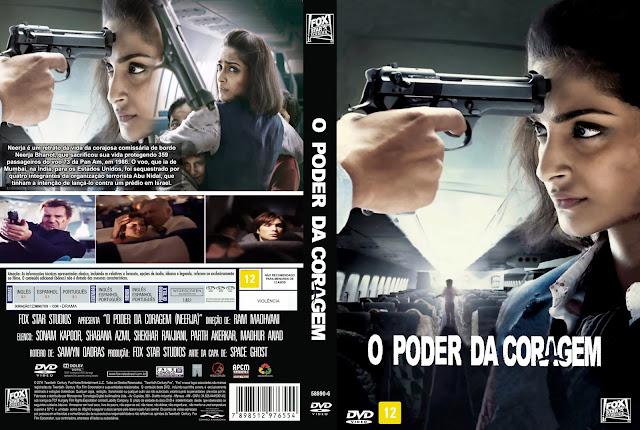 Capa DVD O Poder Da Coragem