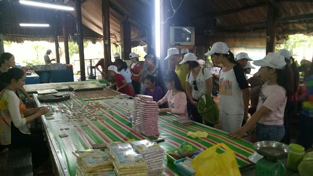 Đặc sản Bến Tre - Kẹo dừa Bến Tre