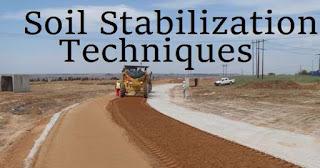 Soil Stabilizing Techniques Seminar Report