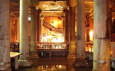 Πλήρης αποκατάσταση για την Βασιλική Κινστέρνα της Κωνσταντινούπολης