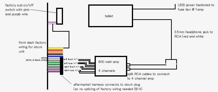 headphone jack to usb wiring diagram
