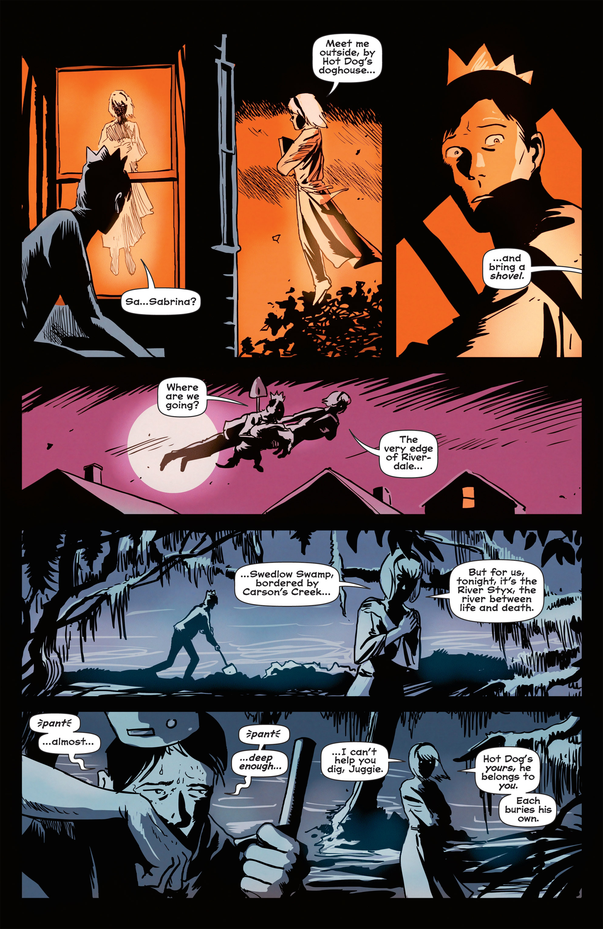 Read online Afterlife with Archie comic -  Issue #1 - 9
