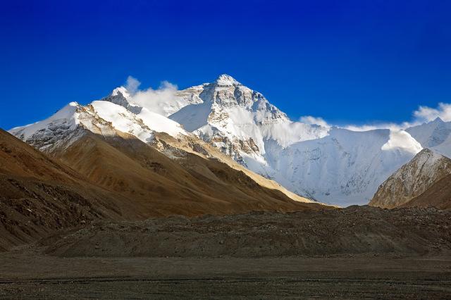 Perbatasan Nepal – Cina (Gunung Everest)
