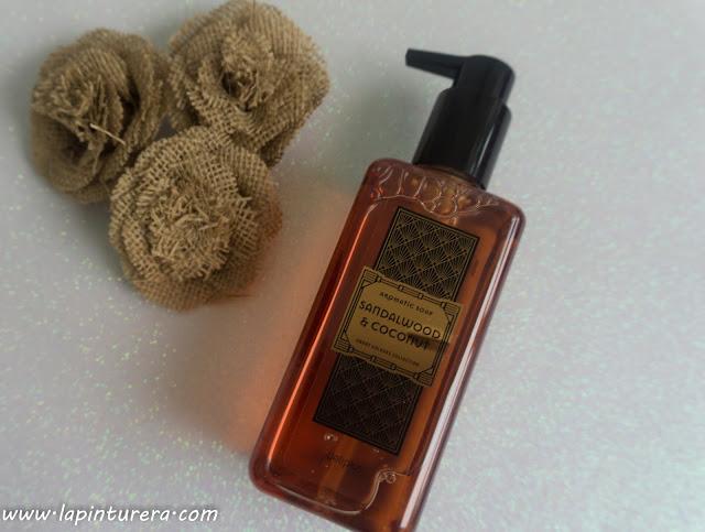 jabón sándalo y coco
