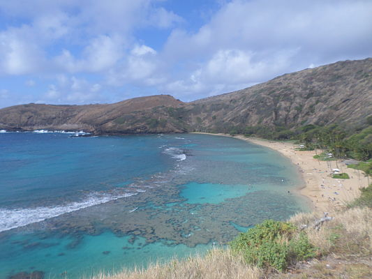 hanauma bay praia havai