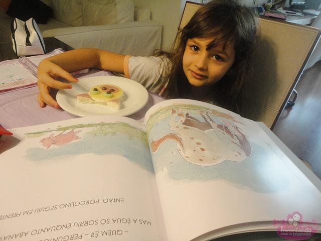 Dica de leitura infantil e atividade de culinária associada