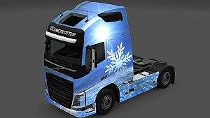 Christmas and The New Year 2014 paint job competition by SCS