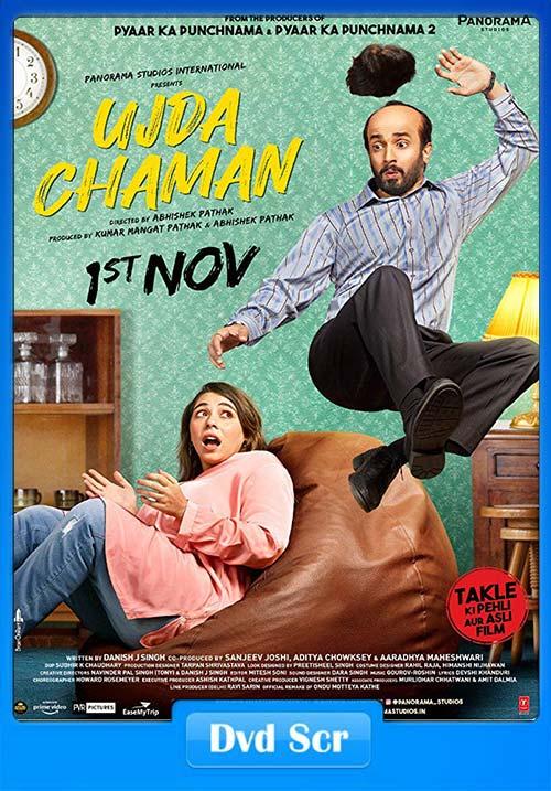Ujda Chaman 2019 Hindi 720p PreDVDRip x264 | 480p 300MB | 100MB HEVC