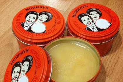 Review Pomade Murray's Superior From USA 3 oz