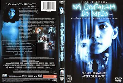 Filme Na Companhia Do Medo DVD Capa
