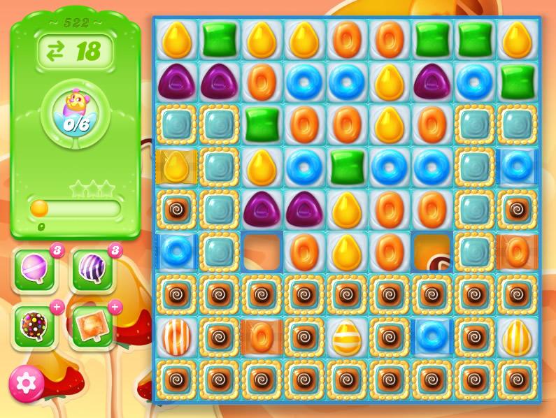 Candy Crush Jelly Saga 522