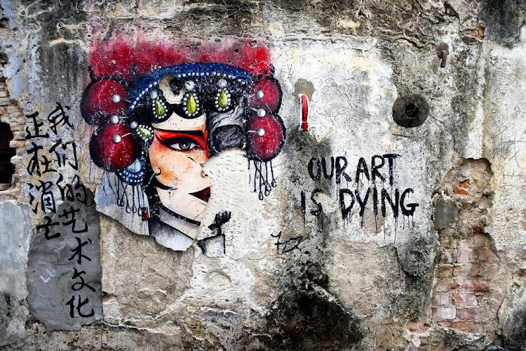 Street Art na wyspie Penang