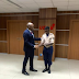 Photos: Tony Elumelu honors bank security guard who found and returned missing $10,000