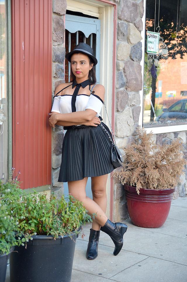 Wearing: Blouse/Blusa: LightInTheBox Boots/Botines: JustFab