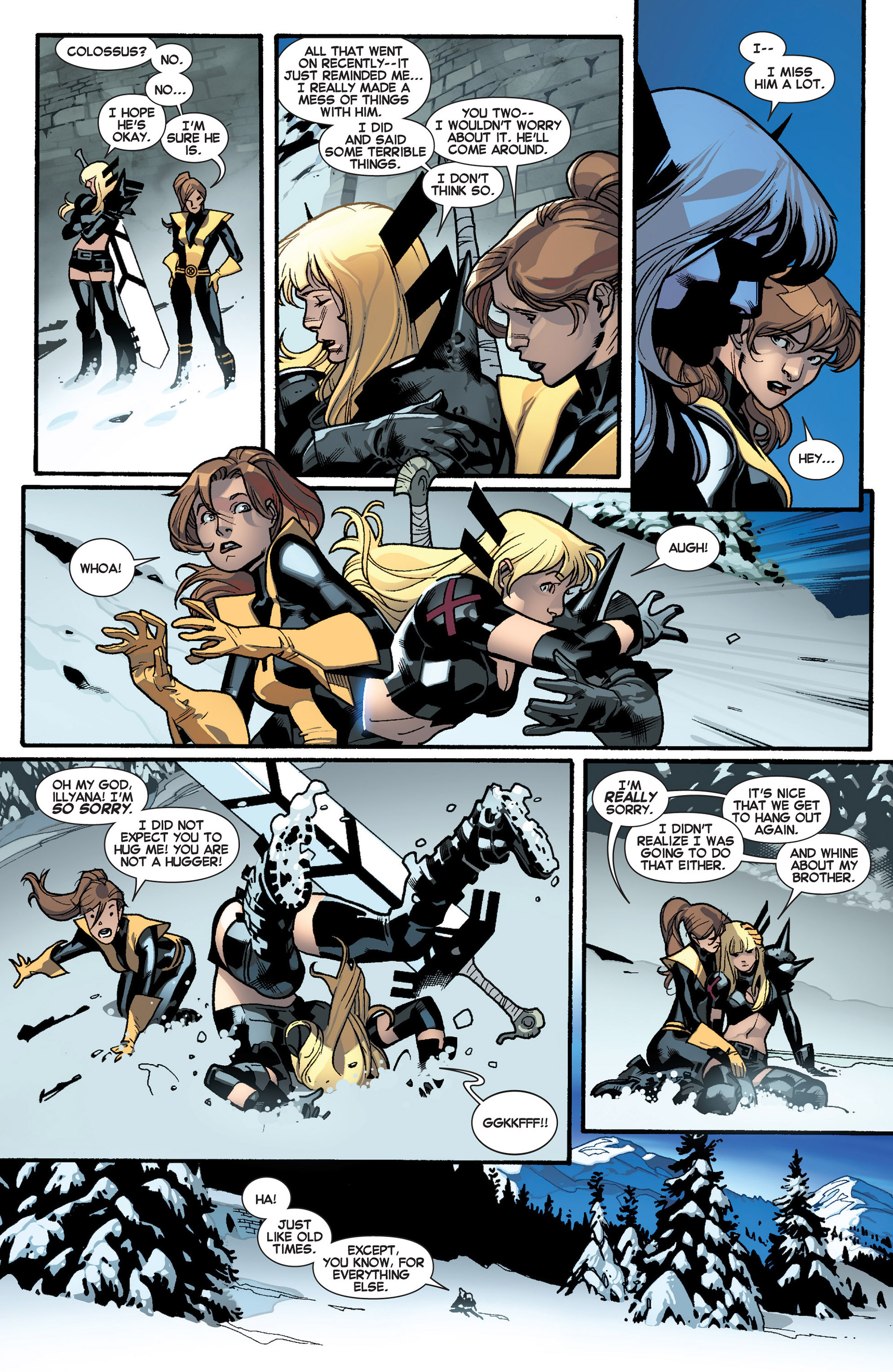 Read online All-New X-Men (2013) comic -  Issue #18 - 12